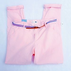 New Pink Girls Skinny Adjustable Pants Size 16